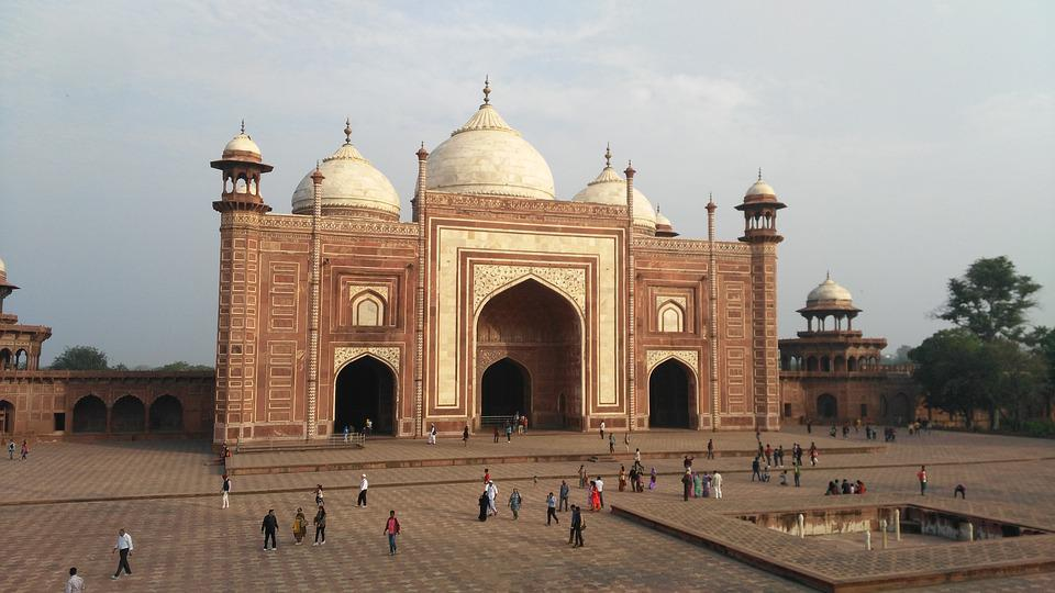 Taj Mahal, Mosque, Unesco, Agra, India, Duplicate
