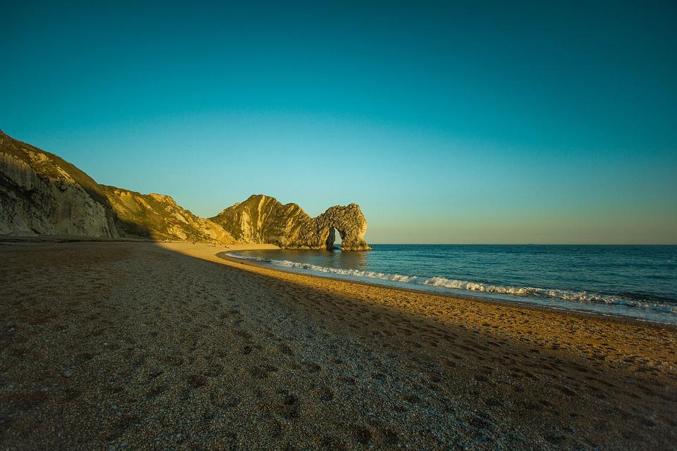 Durdle Door, Ocean, Dorset, United States Of America