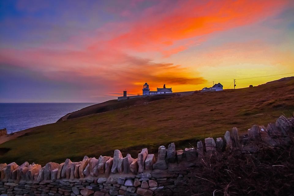 Durlston Lighthouse, Dorset, England