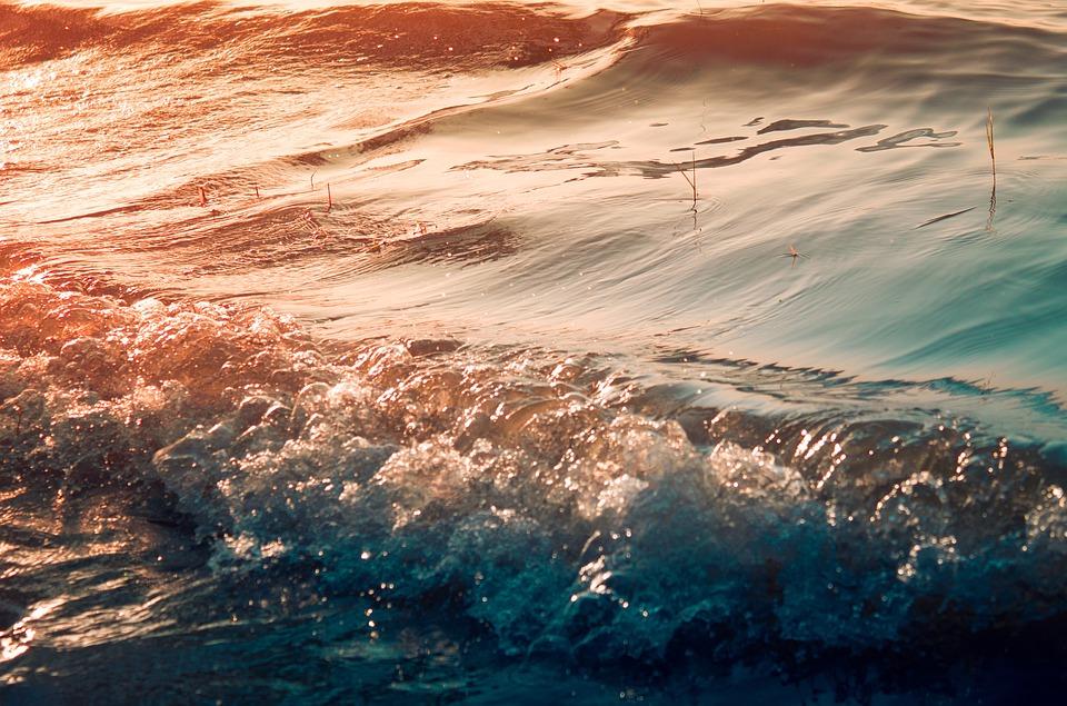Ocean, Sea, Sunset, Dusk, Beach, Water, Seashore