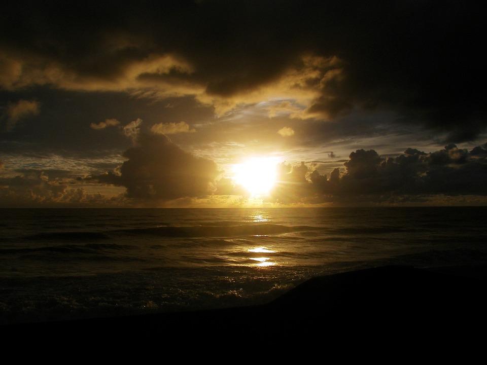 Sol, Mar, Dawn, Beach, Cresp, Dusk Dawn, Beira Mar