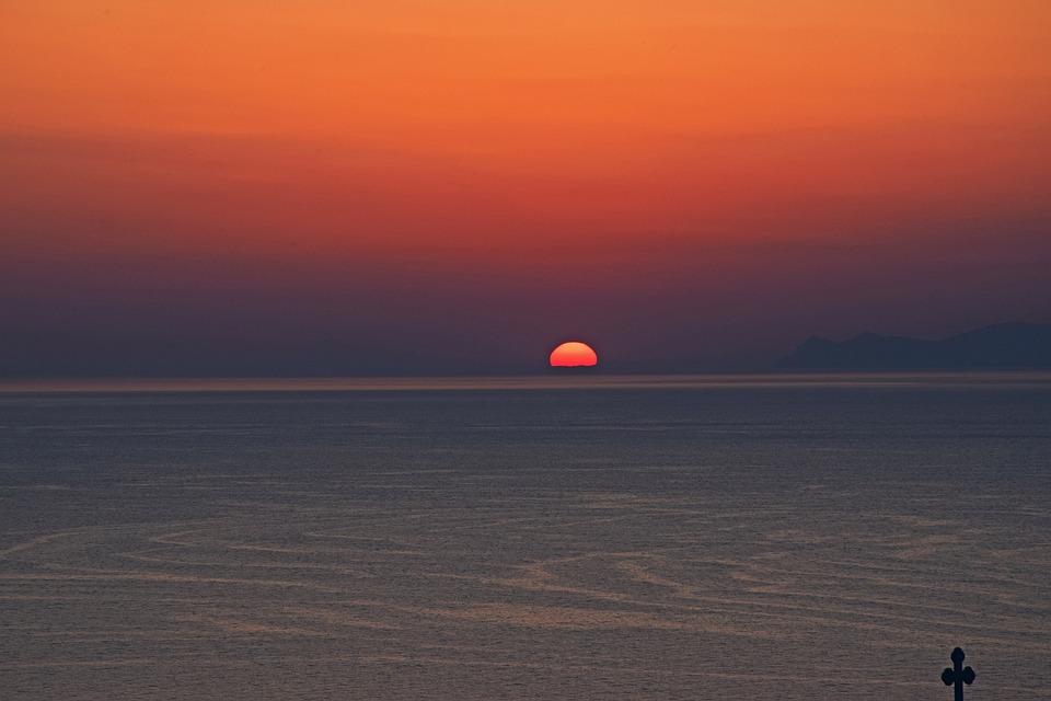 Sunset, Water, Dawn, Dusk, Sea, Evening, Travel, Nature
