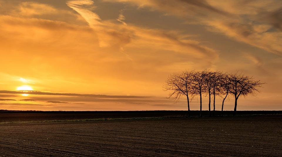 Sunset, Dawn, Sun, Nature, Dusk, Evening, Sky
