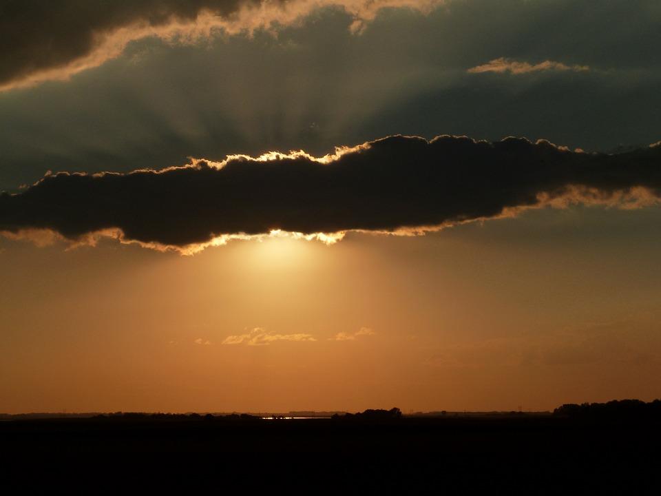Sunset, Dawn, Sun, Evening, Dusk