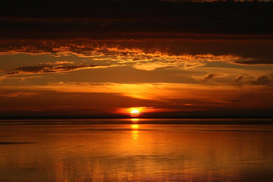 Prince Edward Island, Sunset, Dusk, Evening, Orange Sky