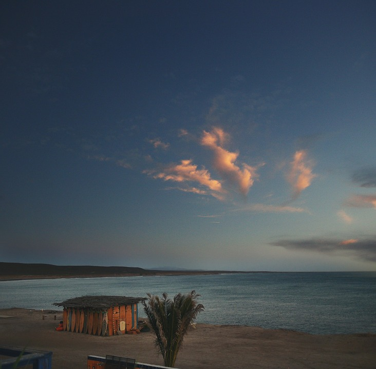 Beach, Sand, Shore, Ocean, Sea, Sunset, Dusk, Sky