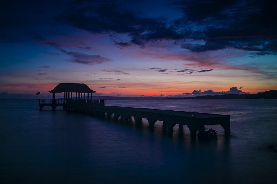 Sunset, Water, Dawn, Dusk, Sea
