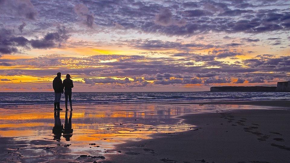 Sunset, Dawn, Water, Dusk, Panoramic