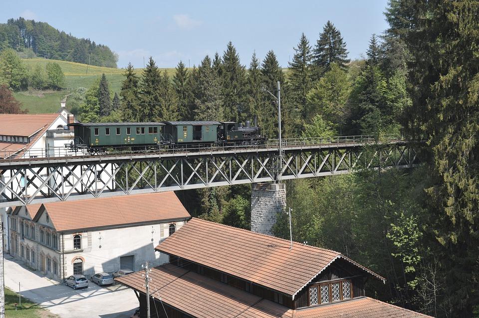 Dvzo, Steam Locomotive, Steam Train, Neuthal, Railway