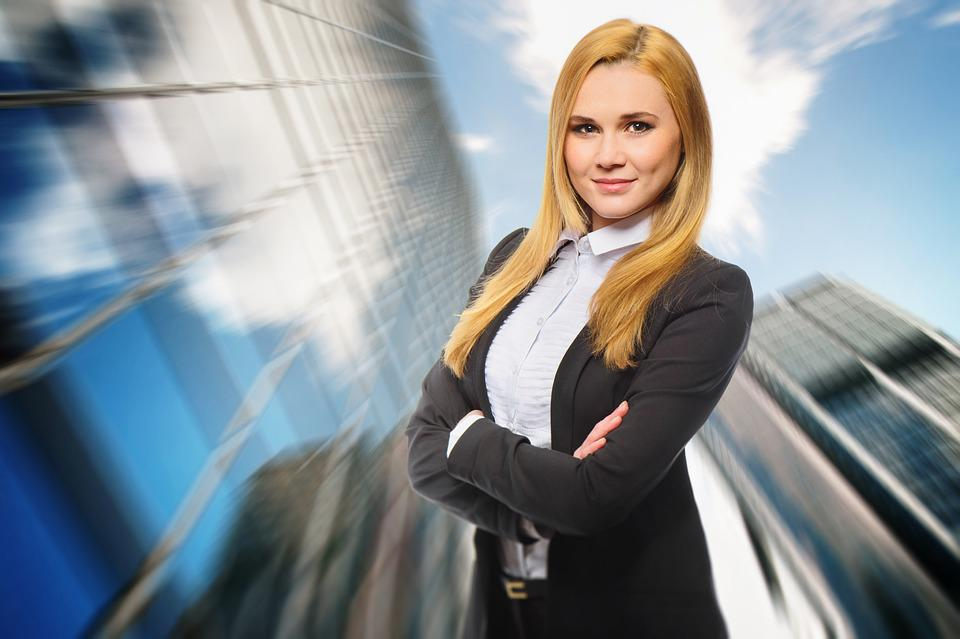 Women, Business, Attractive, Dynamic, Young, Career