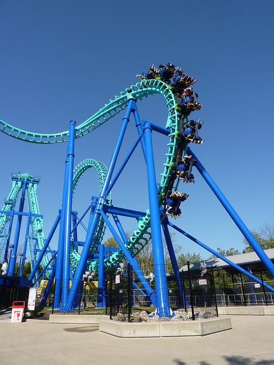 Leisure, Pleasure, Dynamic, Theme Park, Fun, Movement