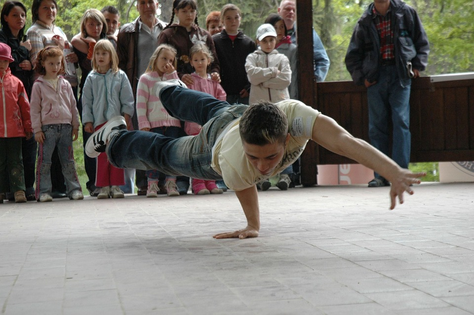 Breakdancing, Dance, Dynamic, Rotate, Young, People