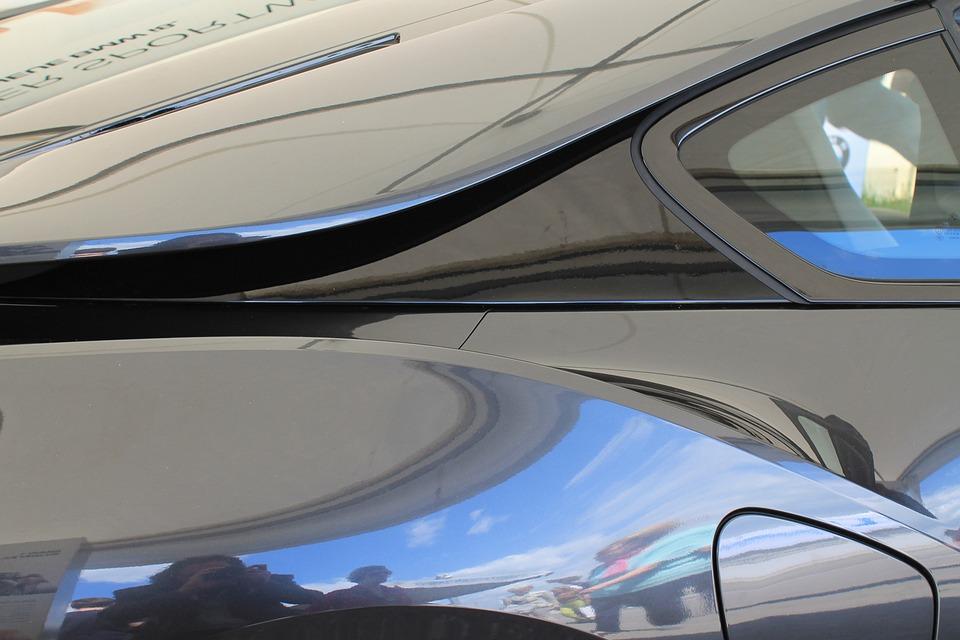 Auto, E Car, Paint, Mirroring, Sports Car