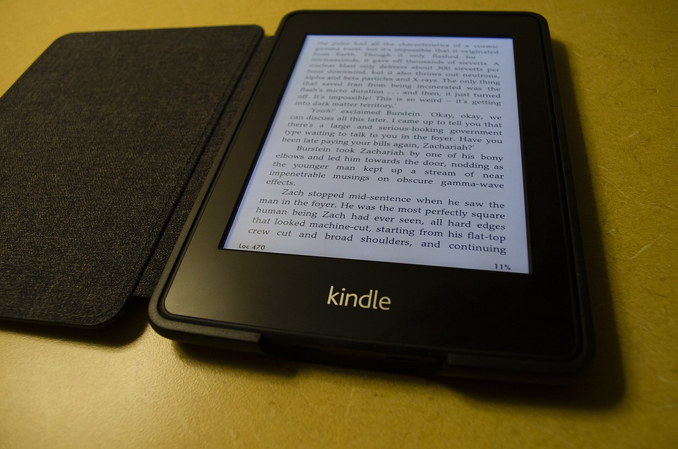 Kindle, E-reader, E-book, Amazon, Ebook, Reader