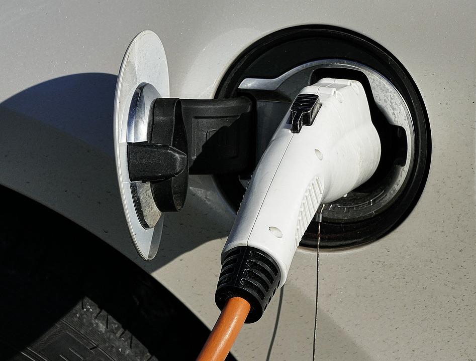 Electric Car, Load Plug-in Connection, E Car, E-mobile