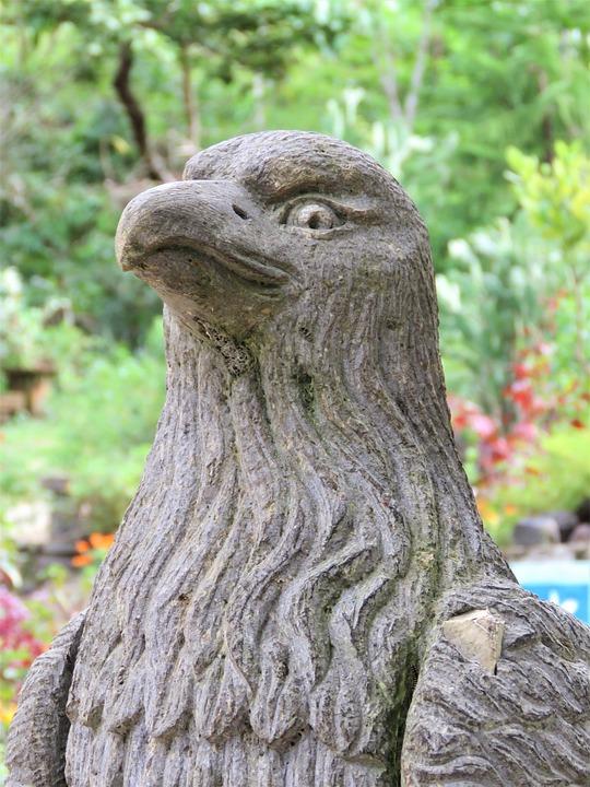 Eagle Statue, Stone Sculpture, Eagle