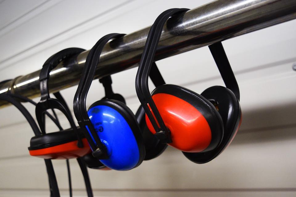 Earmuffs, Noise Cancelling, Headphones, Earphones