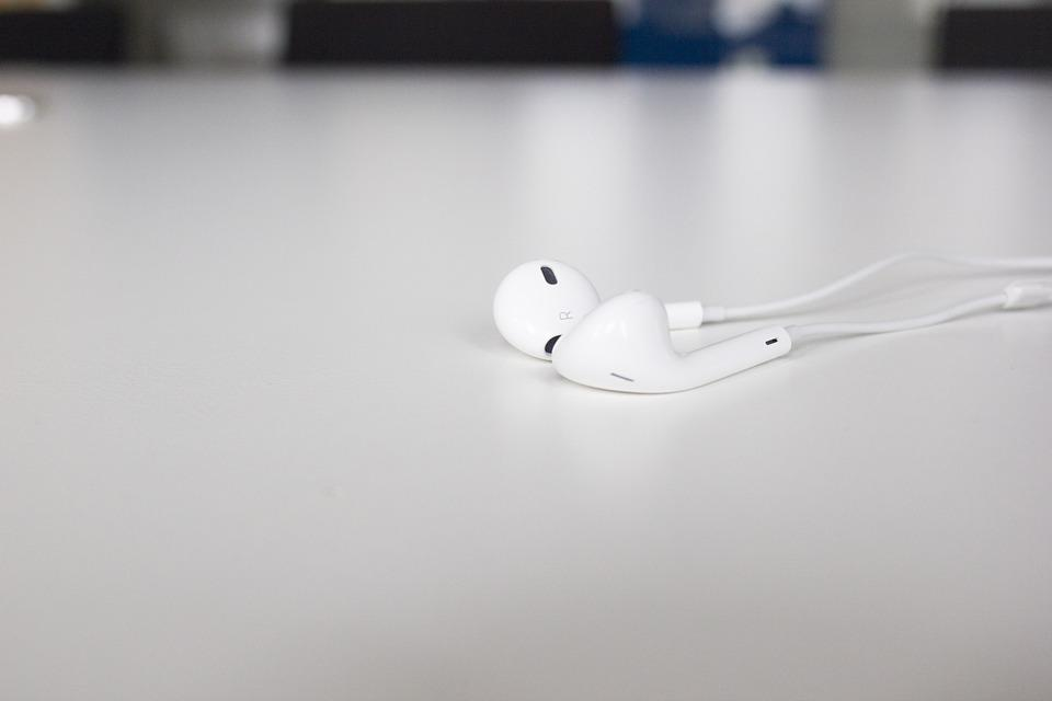 Headphones, In-ear Headphones, Music, Mp3, Earphones