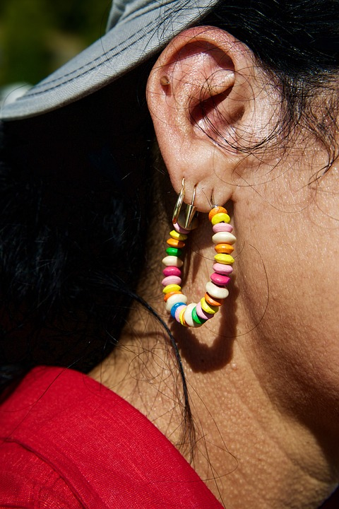Ear, Earlobe, Earrings
