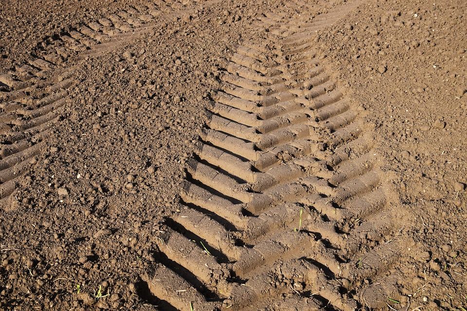 Trace, Tractor Track, Agriculture, Gauge, Earth, Field