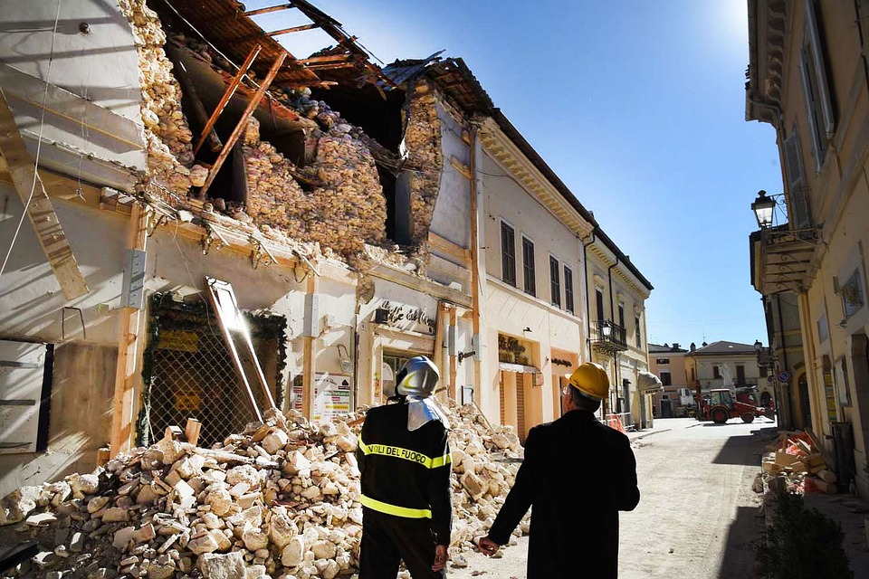Earthquake, Earthquake Italy, Norcia