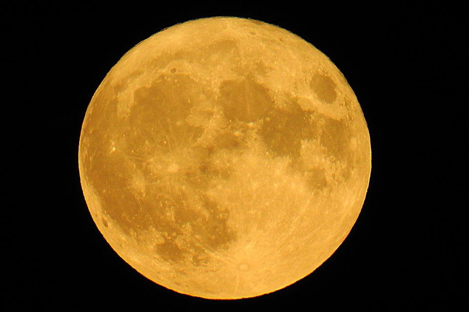 Super Full Moon 2016, Moon, Ache, Luna, Earth's Moon