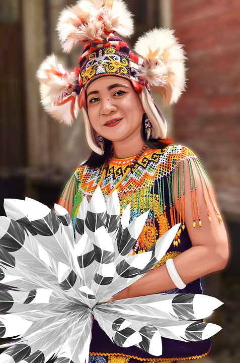 East, Borneo, Beauty, Girl