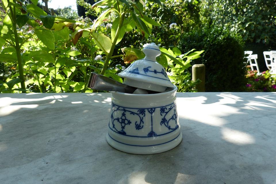 East Frisia, Sugar Bowl, Cafe, Romantic, Relaxation