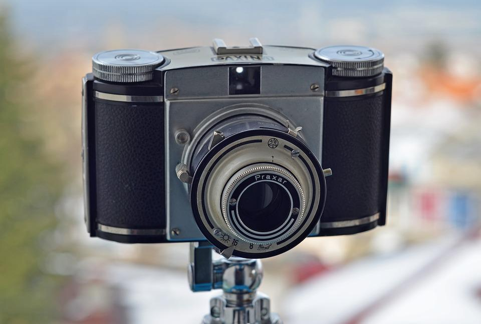 Roll Film, East German, Paxina Camera, Analog Camera