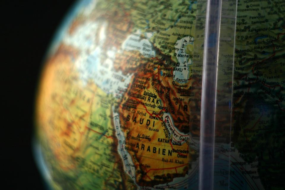 Globe, East Middle, Middle East, Saudi Arabia