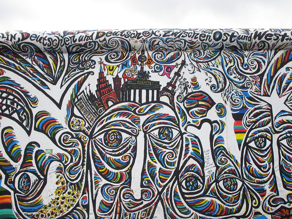 East, Gallery, Berlin, East Side Gallery, Structures