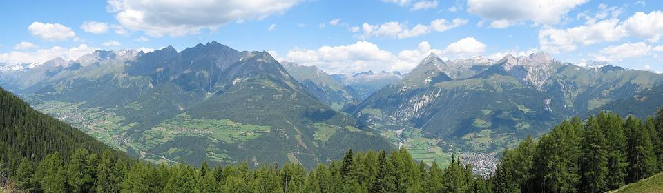Panorama, Matrei, East Tyrol, Mountains