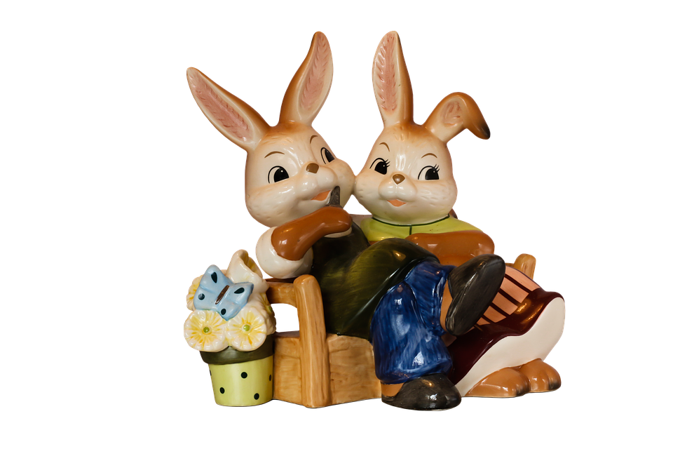 Easter, Easter Bunny, Easter Decoration, Easter Figures