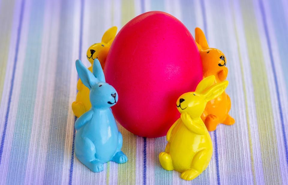 Easter, Easter Bunny, Easter Egg, Egg, Hare, Spring