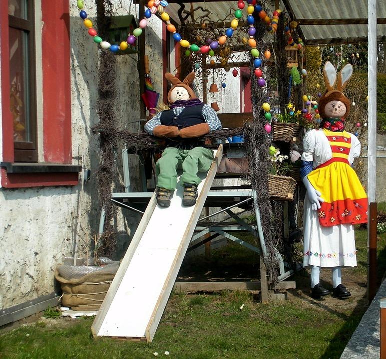 Easter Bunny, Easter, Custom, Customs, Figures