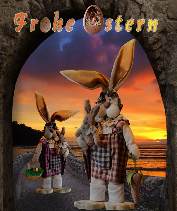 Greeting Card, Easter, Happy Easter, Easter Bunny