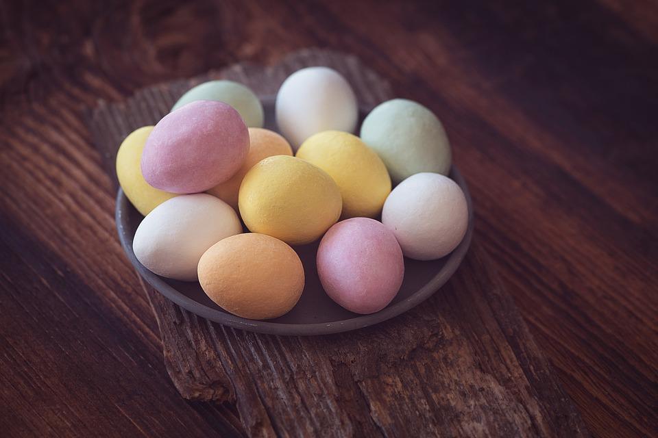 Egg, Chocolate Eggs, Eggs With Frosting, Candy, Easter