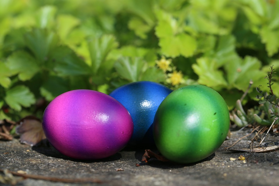 Easter, Easter Eggs, Colorful, Colored, Spring