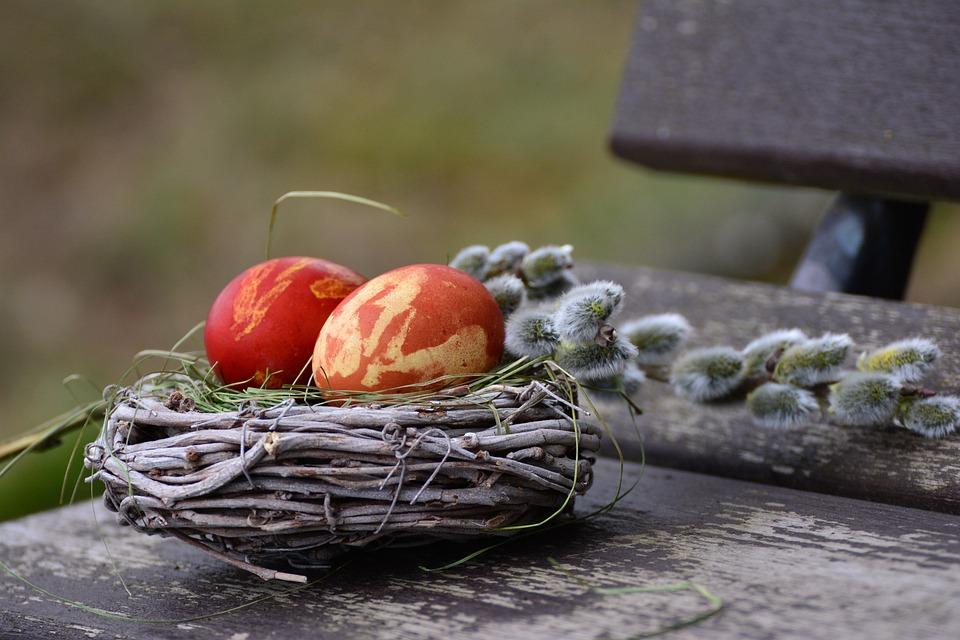 Easter Eggs, Easter Nest, Easter Decoration, Easter