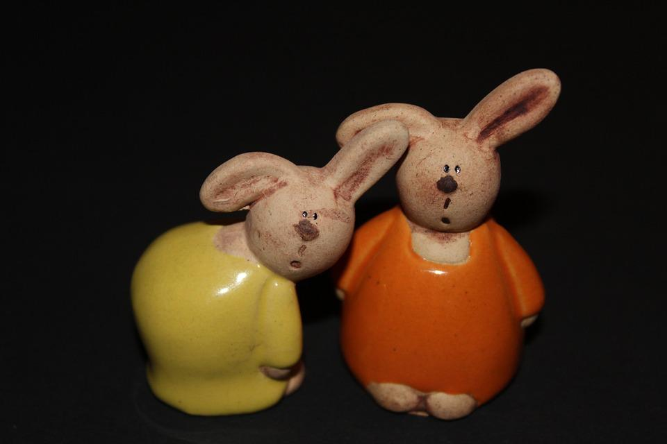 Easter Bunny, Rabbit, Easter, Fig, Animal, Decoration