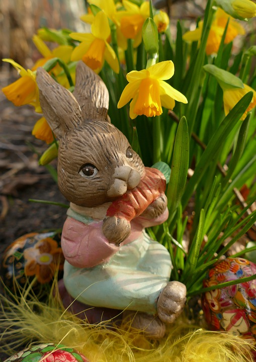 Easter, Easter Bunny, Hare, Figure, Funny, Sweet