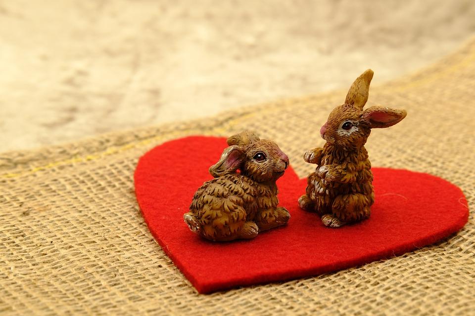 Easter, Easter Bunny, Easter Celebration, Love, Heart