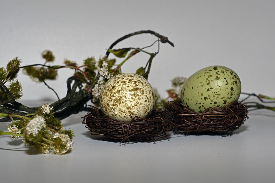 Easter Eggs, Easter Nest, Easter, Egg, Decoration