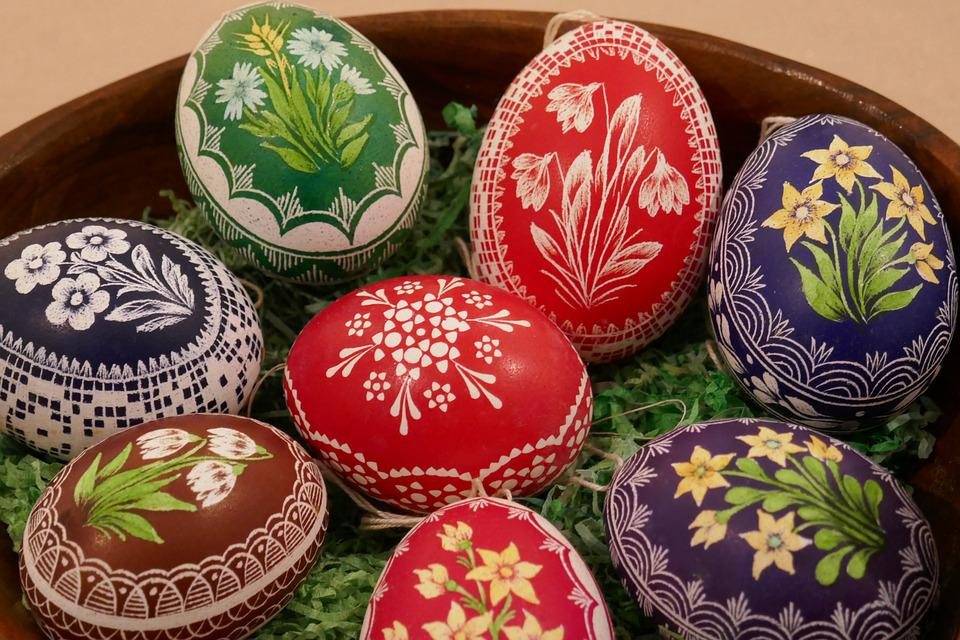 Egg, Eggs, Painted, Easter, Colorful, Decoration