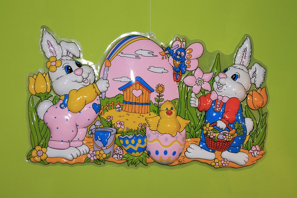 Easter Bunny, Easter Egg, Figures, Funny