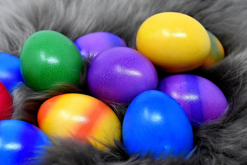 Easter Eggs, Colorful, Color, Happy Easter, Egg