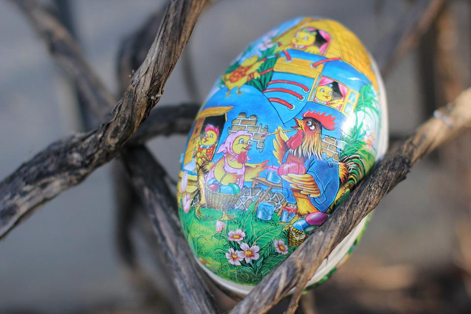 Easter, Easter Eggs, Decorated Easter Eggs