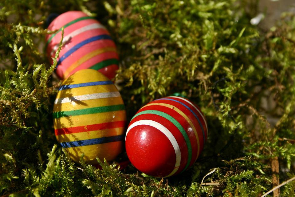 Easter, Easter Eggs, Egg, Colorful, Color, Painting