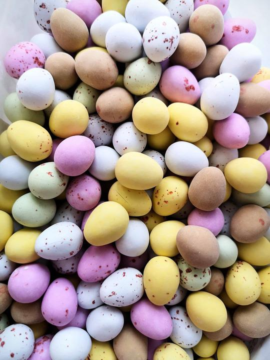 Easter Eggs, Colourful, Eggs, Easter, Decorations