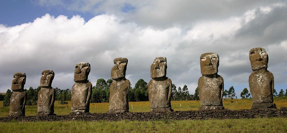 Easter Island, Mohai, Rapa Nui, Sculpture, God, Belief